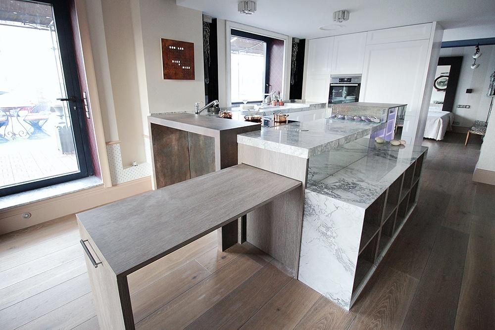 26 genial mesas cocina dise o im genes pon todos los - Mesas cocina diseno ...