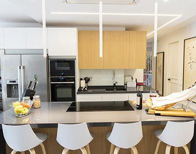 Cocina con isla y encimera lapitec l nea 3 cocinas - Linea 3 cocinas ...
