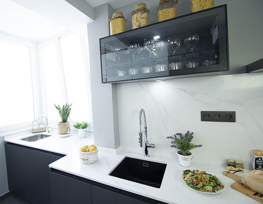 Cocina moderna, ¡combinación de estilos!