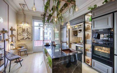 Diseño de cocinas en Madrid - Línea 3 cocinas