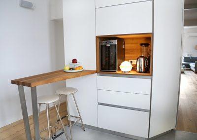 Línea 3 Cocinas Encimera de Madera