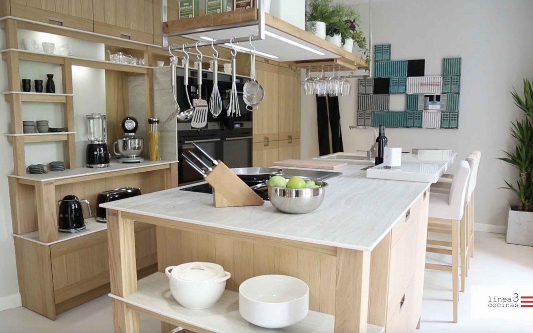 Montaje de la cocina de Casa Decor 2017