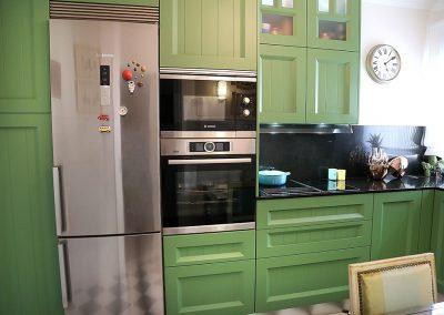 Línea 3 Cocinas Muebles Verdes