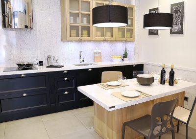 Línea 3 Cocinas Dos Tipos de Mueble