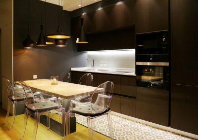 Línea 3 Cocinas Electrodomésticos Negros