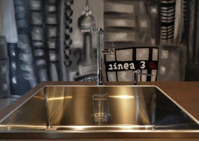 Línea 3 Cocinas Diferentes Fregaderos