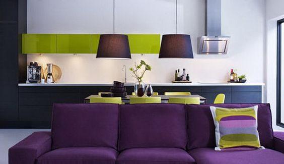 El color para el diseño de la cocina en Madrid