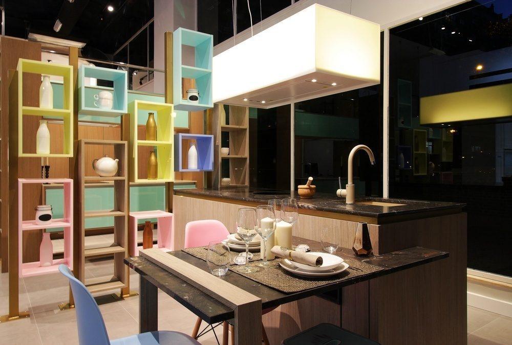 Diseño de la cocina Color en Madrid