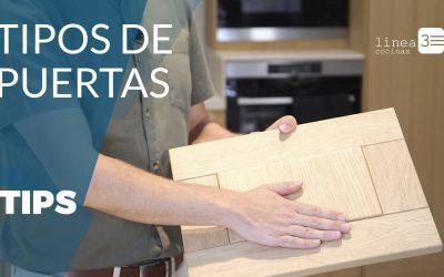3 tipos de materiales para puertas de cocina 🚪