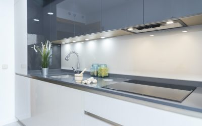 Cocina pequeña en un solo frente ideal para inversión