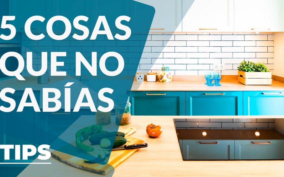 5 curiosidades sobre diseño cocinas que no conocías