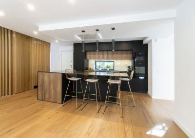 cocina moderna abierta al salon con isla-2