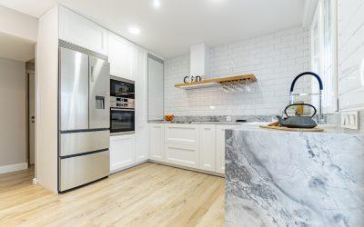 Cocina Blanca en U ¡La mejor distribución de cocina!