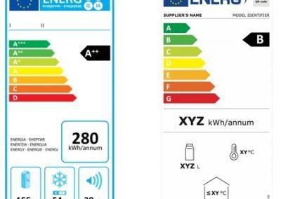 nuevo etiquetado energético etiquetas eficiencia energetica